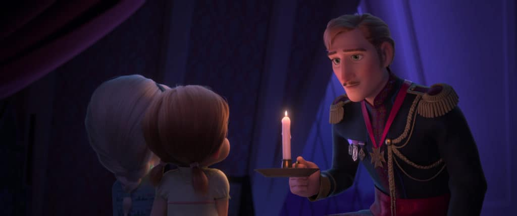 FROZEN 2 - KING AGNARR, YOUNG ANNA AND YOUNG ELSA