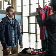 Spider-Man: Far From Home ~ Tom Holland in airport scene