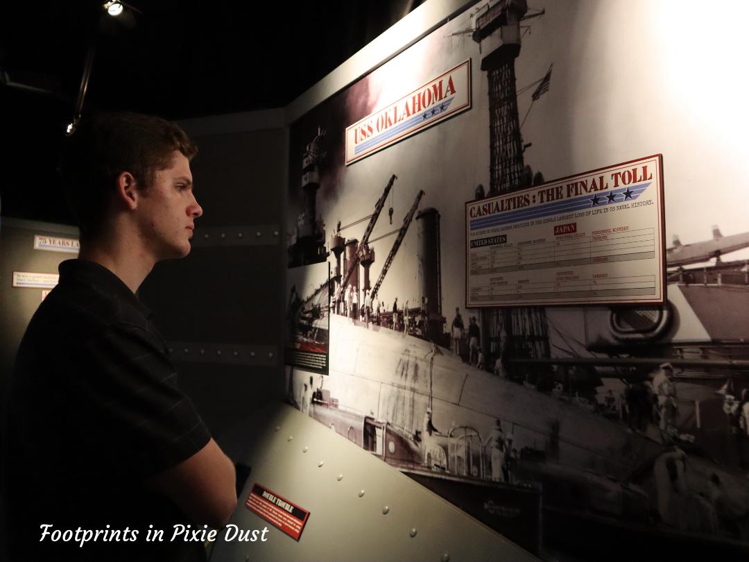 Myrtle Beach Trip - Ripley's Aquarim - Pearl Harbor Exhibit