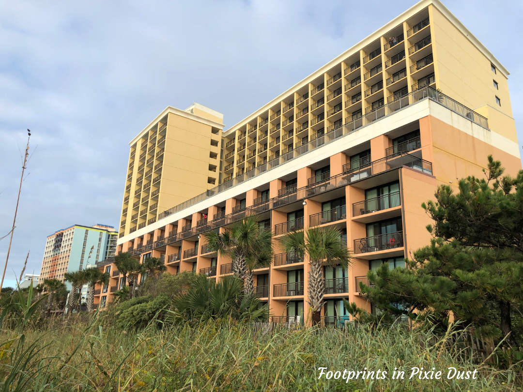 Myrtle Beach Trip - The Caravelle Resort - Oceanfront view