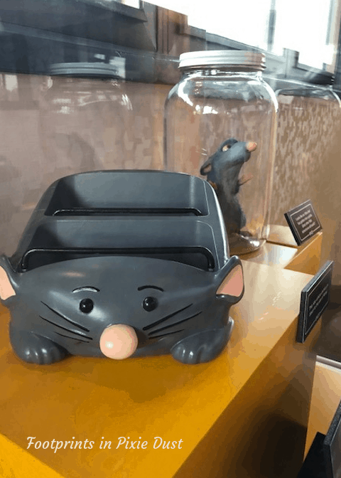 What's New At Epcot - The Epcot Experience - Ratatouille Attractio Vehicle