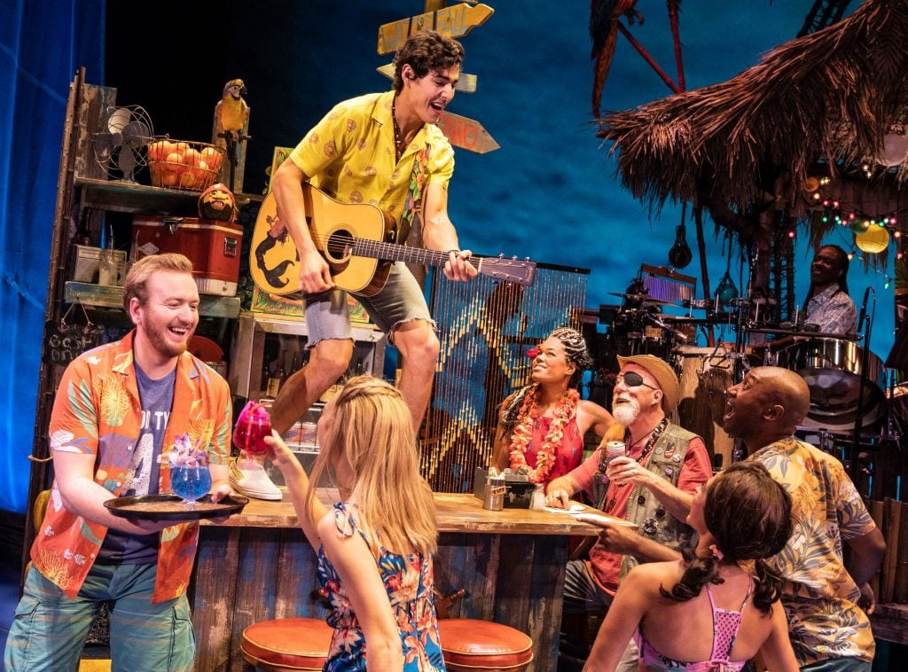 Company of the National Tour, Jimmy Buffett's ESCAPE TO MARGARITAVILLE