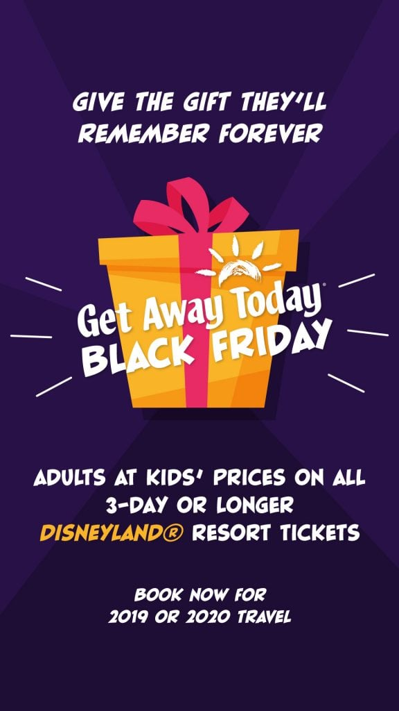 Get Away Today Black Friday Offer