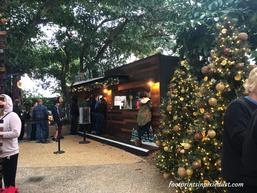 Busch Gardens Christmas Town Village - Christmas Town Village Cabins
