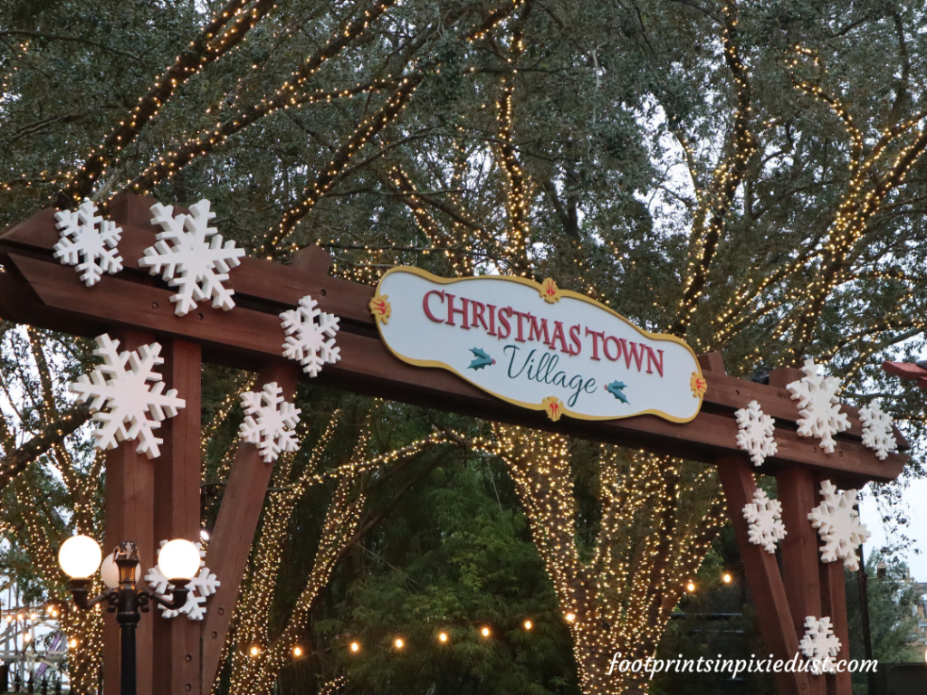 Busch Gardens Christmas Town Village - Entrance