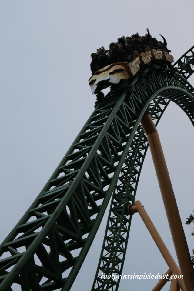 Busch Gardens Christmas Town Village - Roller Coaster
