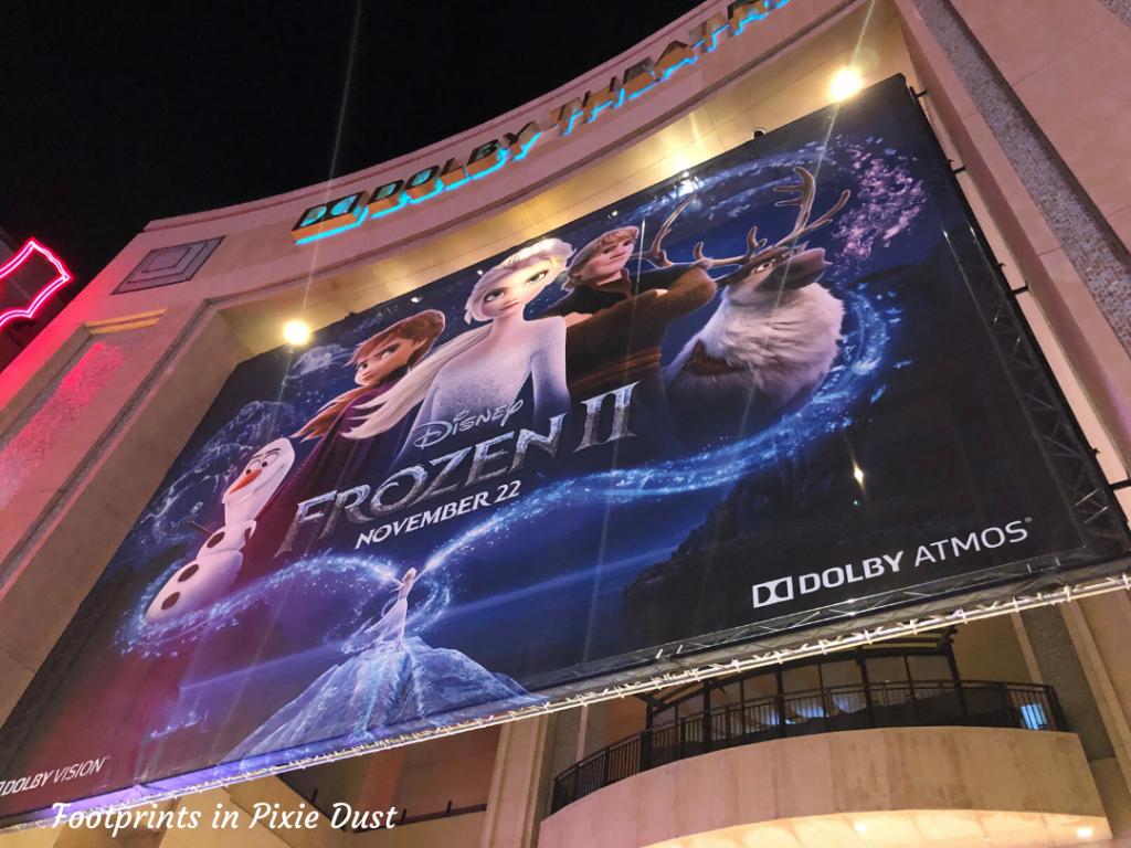 Dolby Theatre - Frozen 2 World Premiere