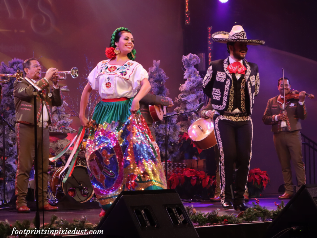 Epcot International Festival of the Holidays Preview - Entertainment from the Mexico Pavilion