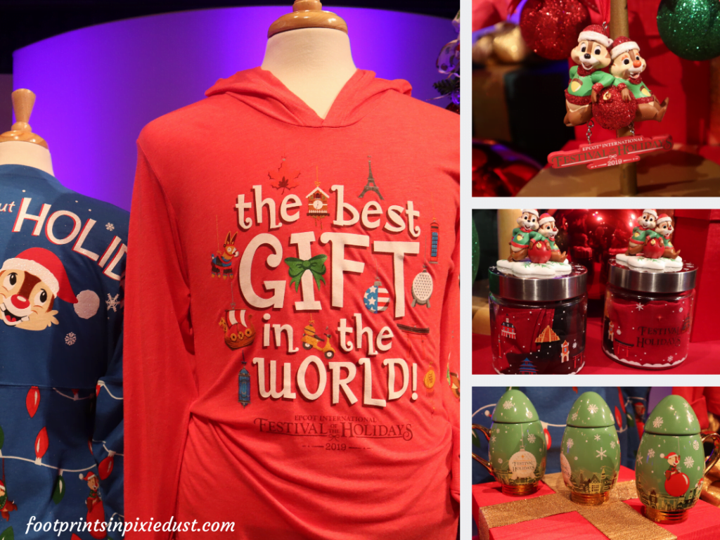 Epcot International Festival of the Holidays Preview - Festival merchandise