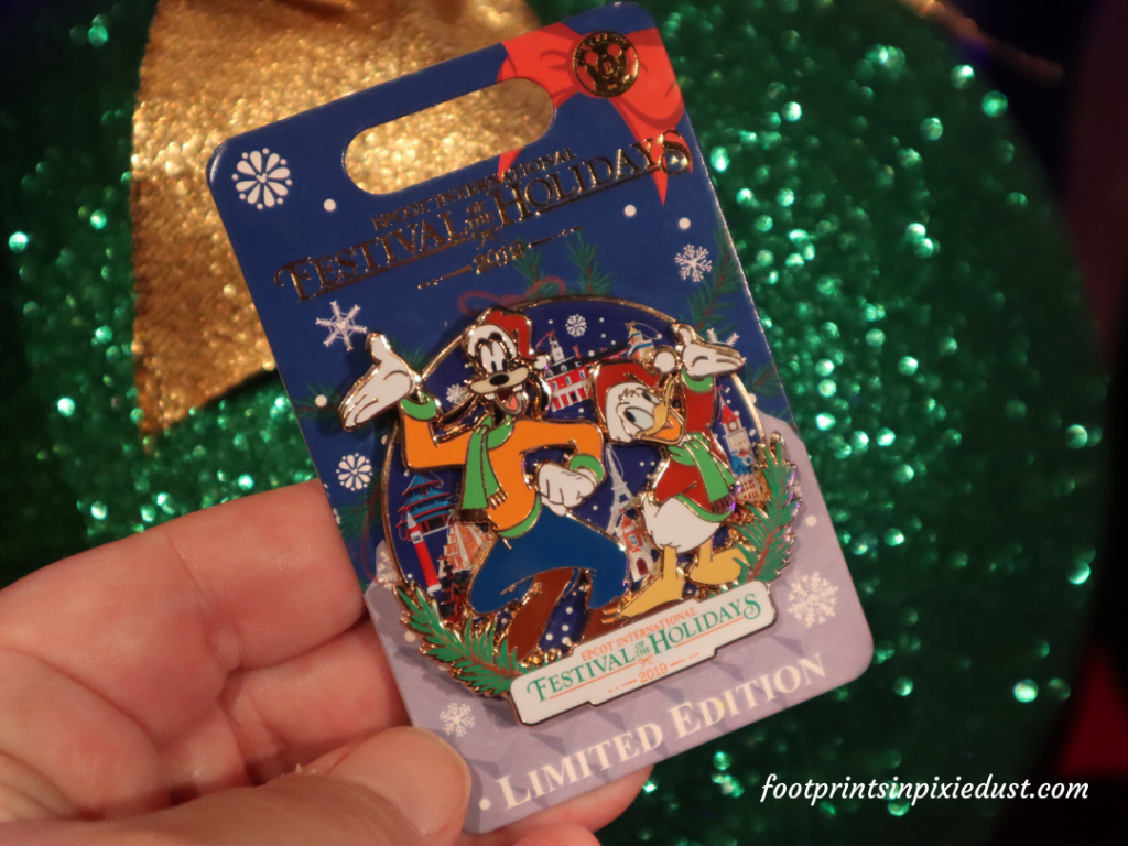 Epcot International Festival of the Holidays Preview - Limited Edition pin