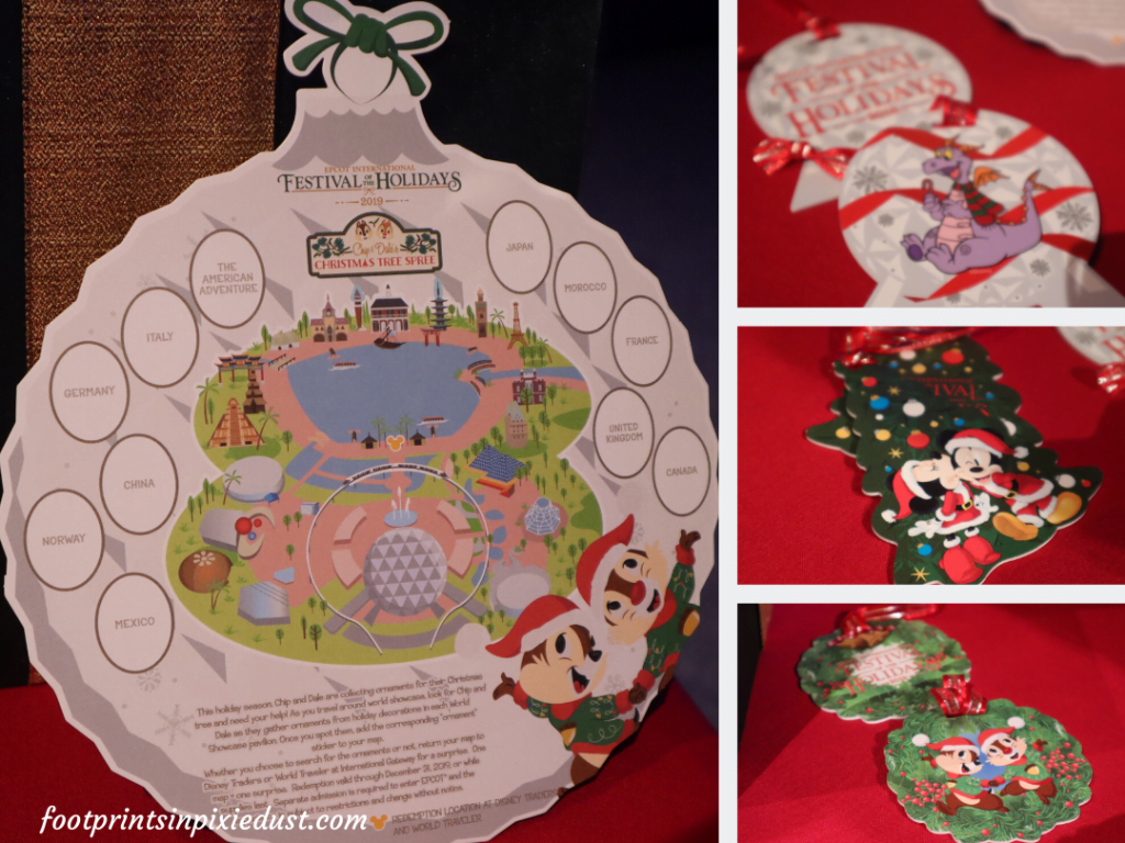 Epcot International Festival of the Holidays Preview - Scavenger Hunt and Prizes