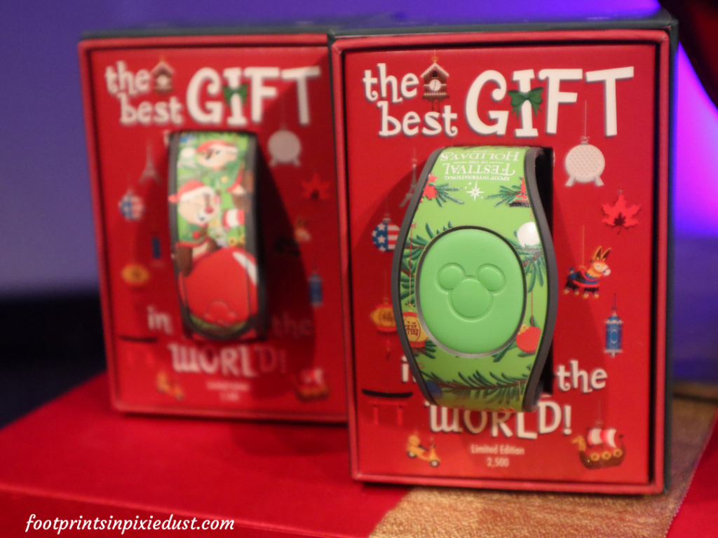 Epcot International Festival of the Holidays Preview - Specialty Magic Band