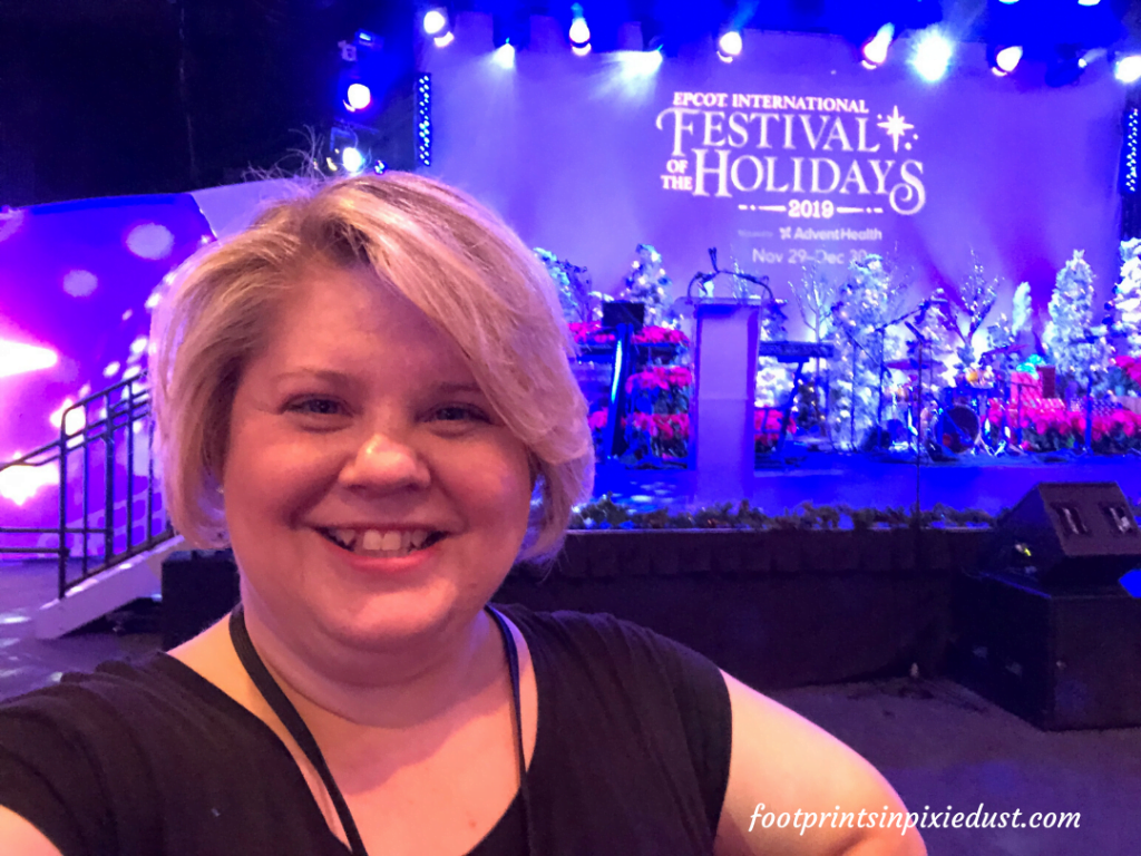 Epcot International Festival of the Holidays Preview - the sage