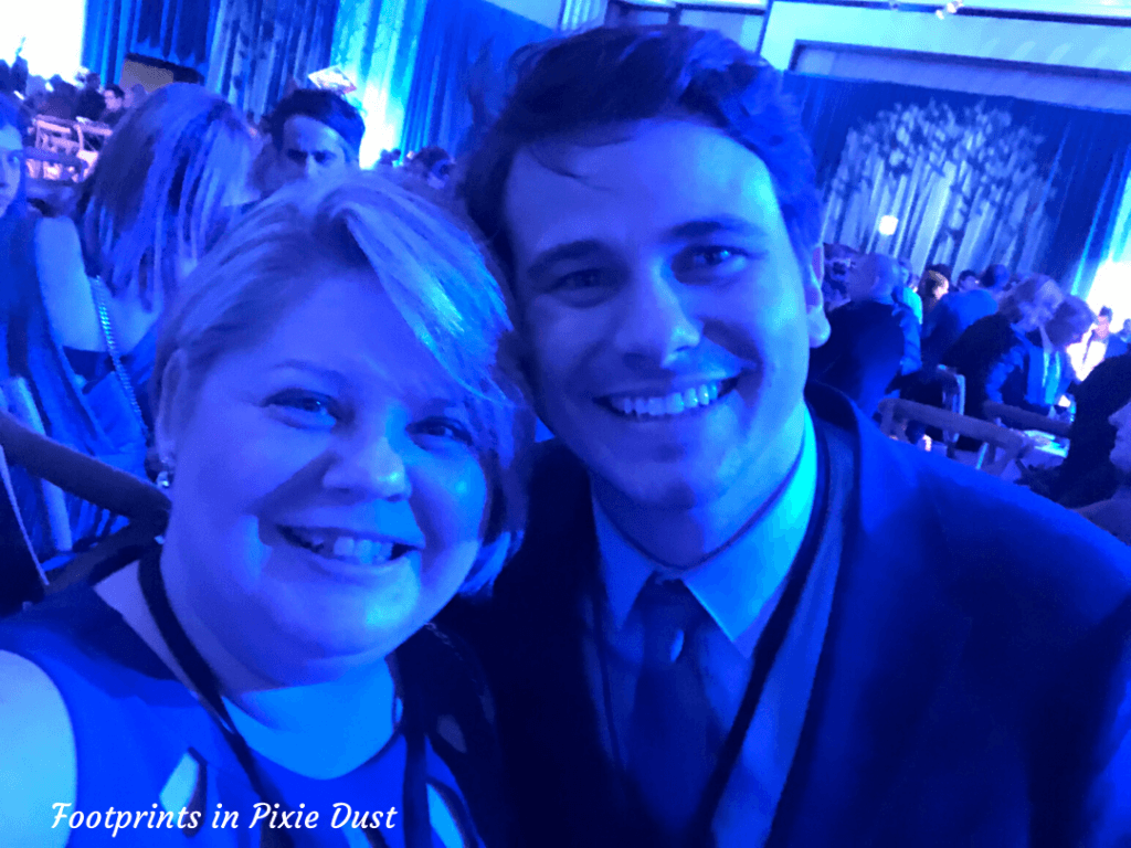 Frozen 2 After Party - Meeting Jason Ritter