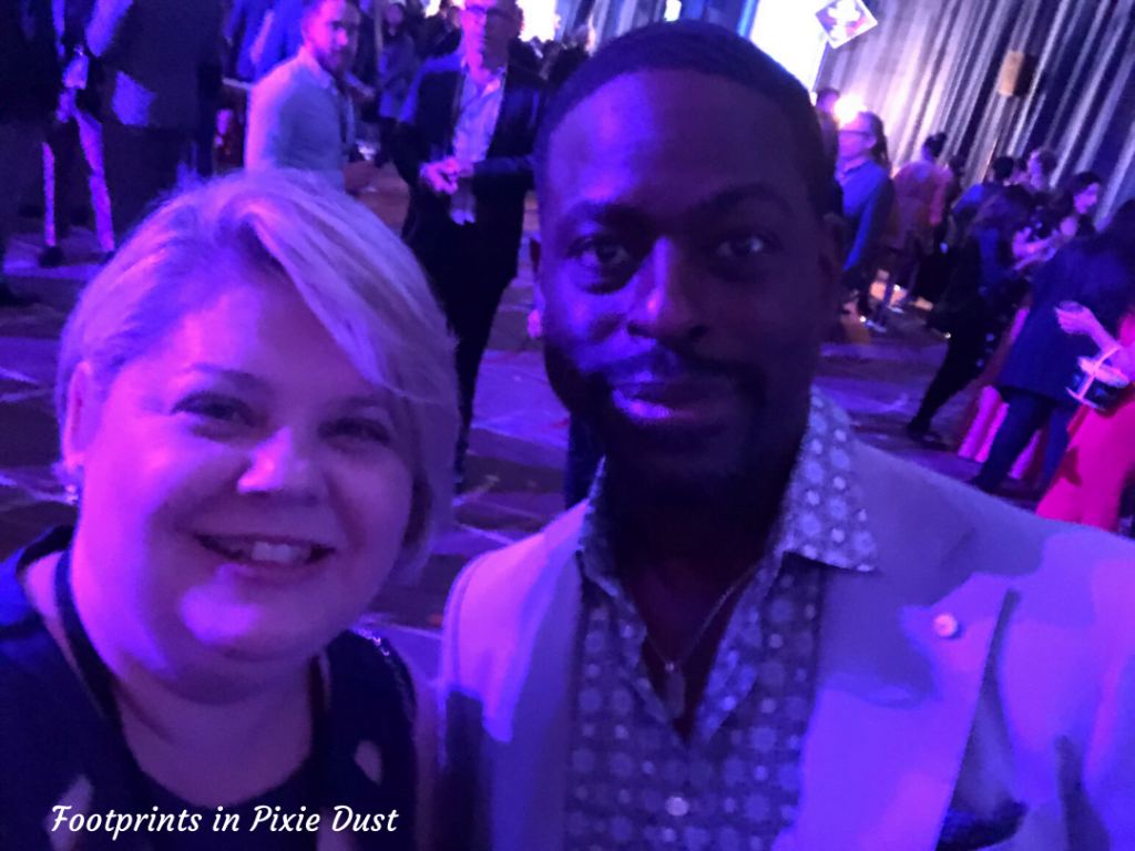 Frozen 2 After Party - Meeting Sterling K. Brown