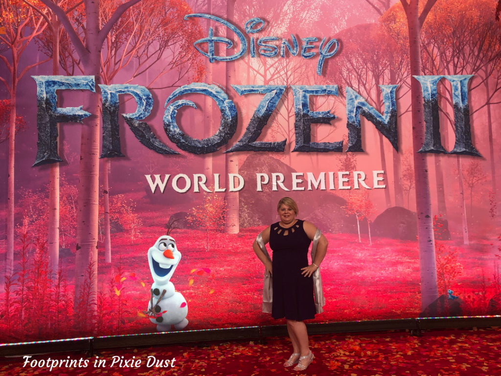 Frozen 2 Red Carpet