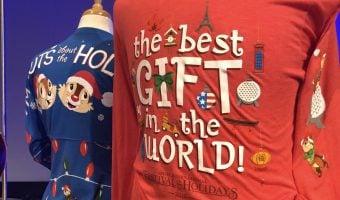 Epcot International Festival of the Holidays shirts