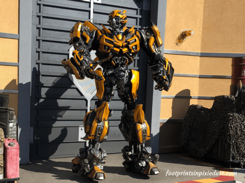 Universal Studios Hollywood - Bumble Bee from Transformers