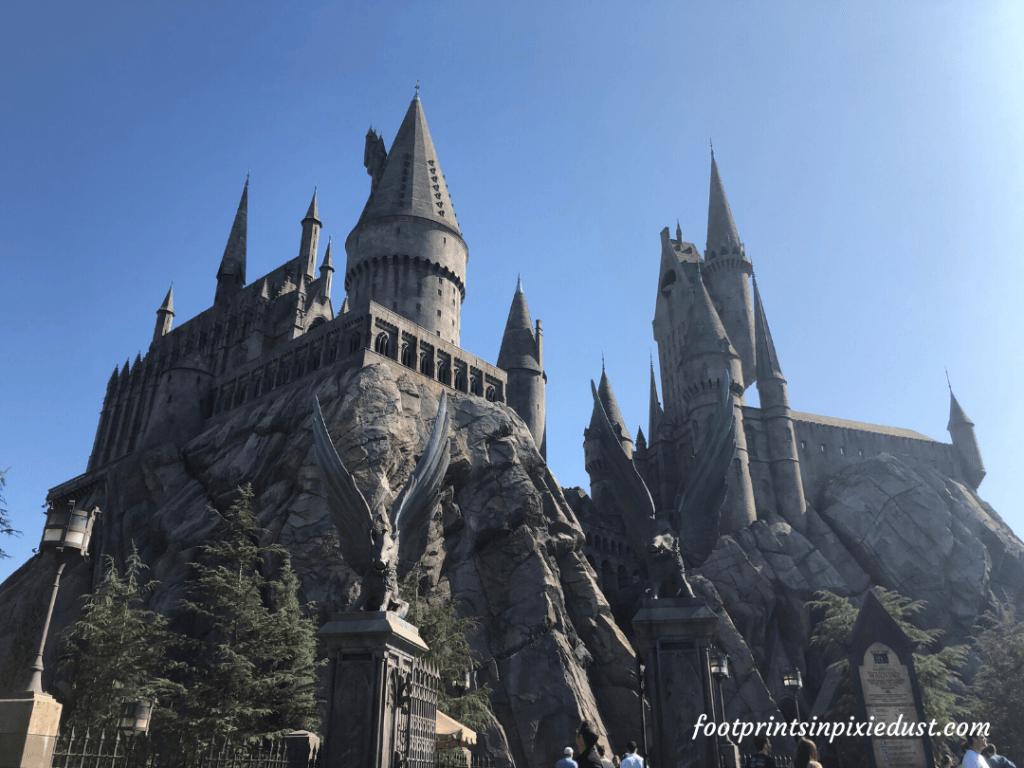 Universal Studios Hollywood - Hogwart's Castle