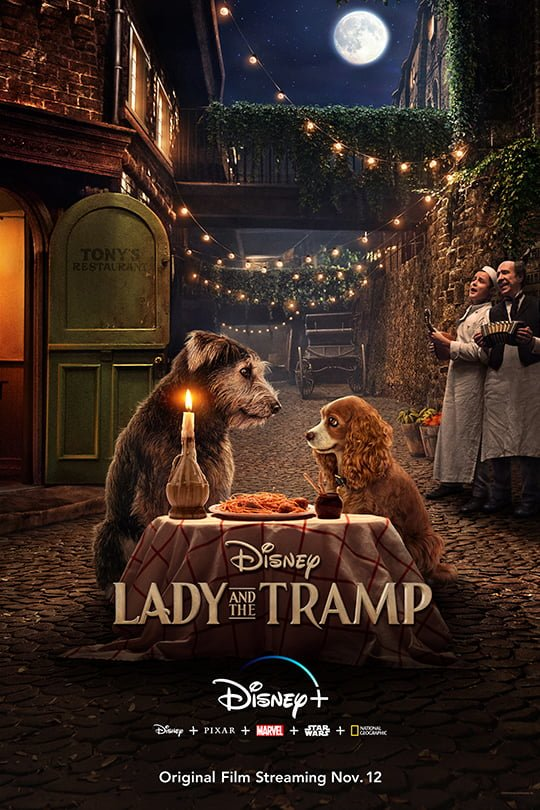 Lady and The Tramp Poster ~ courtesy of Walt Disney Pictures