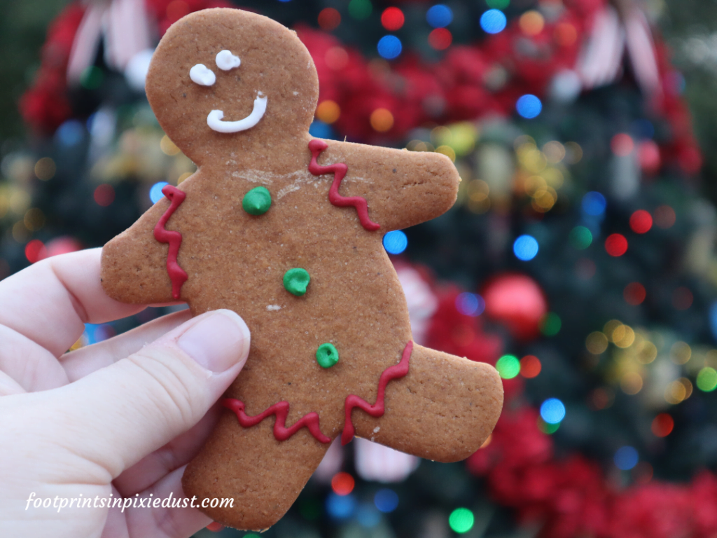 Epcot Holiday Cookie Stroll - Gingerbread Man