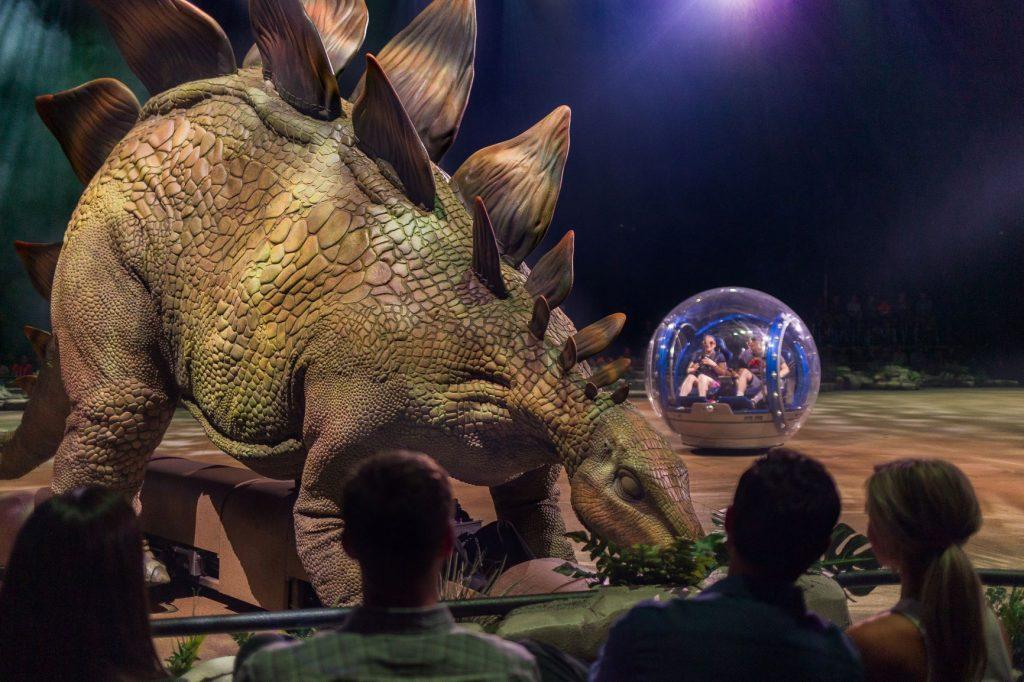 Jurassic World Tour - Gyrosphere Valley (photo credit: Feld Entertainment)ic World Tour - Gyrosphere Valley