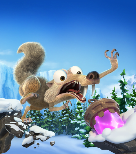 Ice Age: Scrat's Nutty Adventure: Courtesy of Outright Games