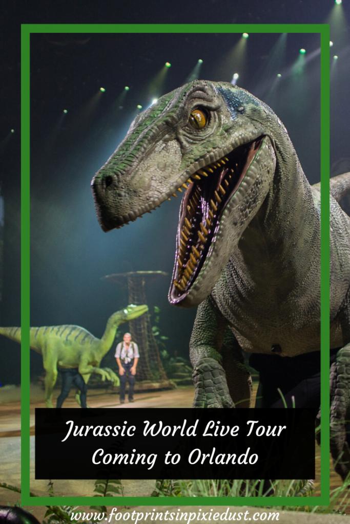 Jurassic World Live Tour - #JurassicWorldLiveTour #AmwayCenter #entertainment #arena #dinosaurs
