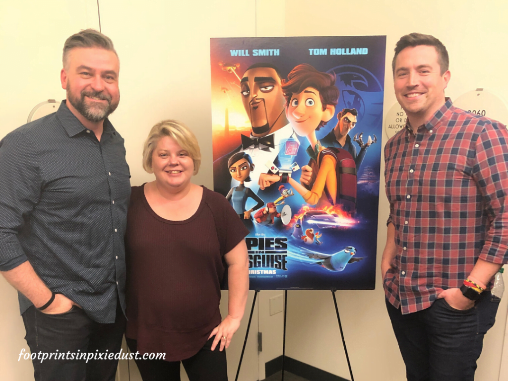 Spies in Disguise - Photo with Nick Bruno and Troy Quane
