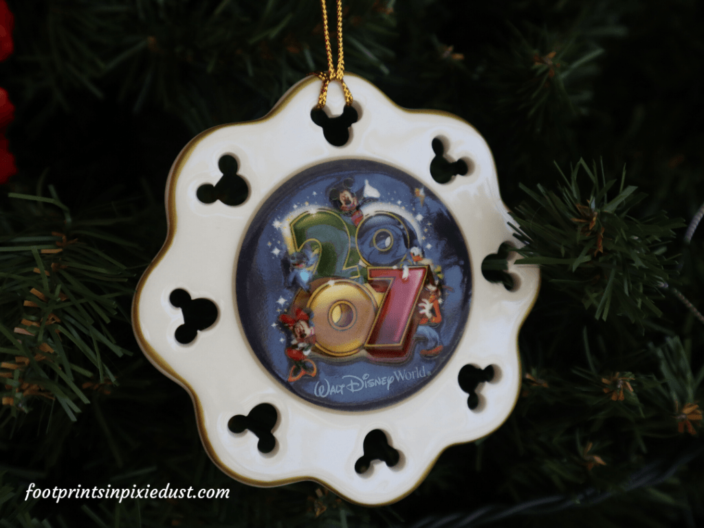 The Story Behind The Ornaments - Day Four, Our First Disney Ornament