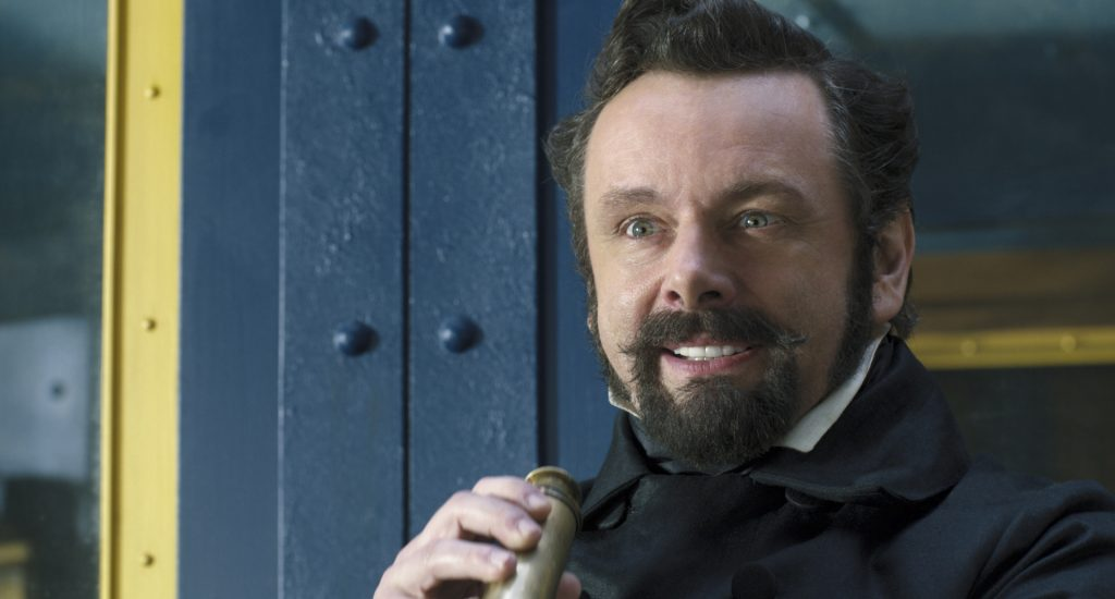 "Michael Sheen as Dr. Blair Müdfly in ""Dolittle,"" ~ photo courtesy of Universal Pictures"