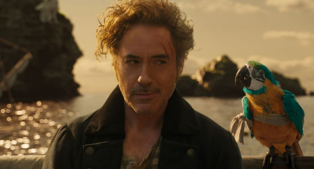 Robert Downey, Jr., in Dolittle - photo courtesy of Universal Pictures