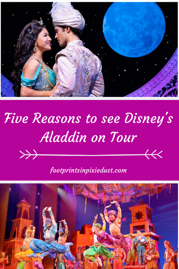 Disney's Aladdin on Tour - Photos by Deen van Meer