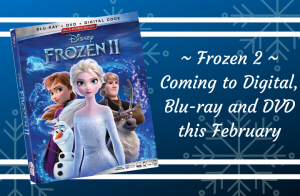 Disney's Frozen 2 | On Digital, Blu-ray™ and 4K UHD™ This February!