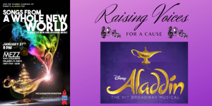Disney's Aladdin North American Tour: Company Members Raise Their Voices For A Cause