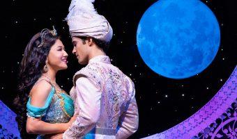 Kaena Kekoa (Jasmine) & Jonah Ho'okano (Aladdin). Aladdin North American Tour. Photo by Deen van Meer