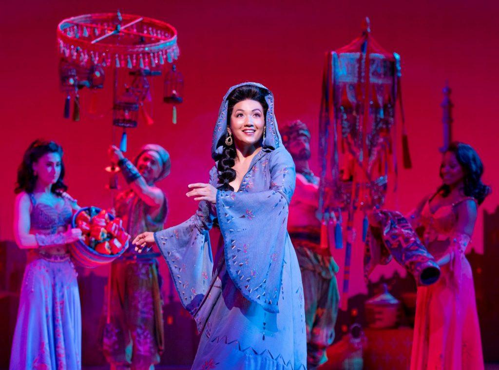Kaena Kekoa (Jasmine). Aladdin North American Tour. Photo by Deen van Meer