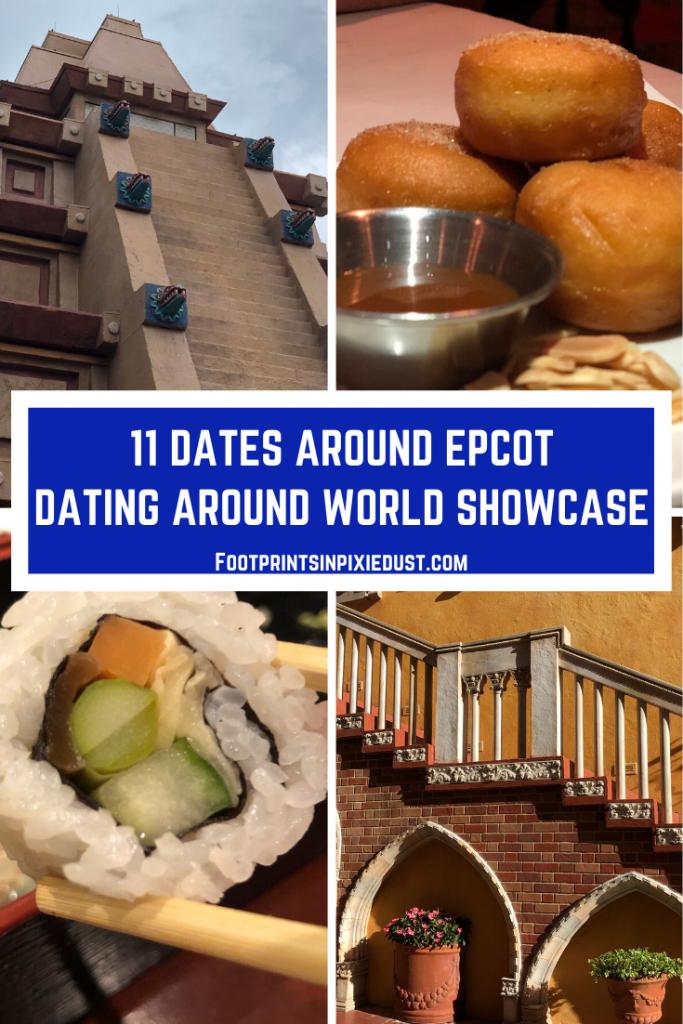 11 Dates | Dating Around Epcot World Showcase pin