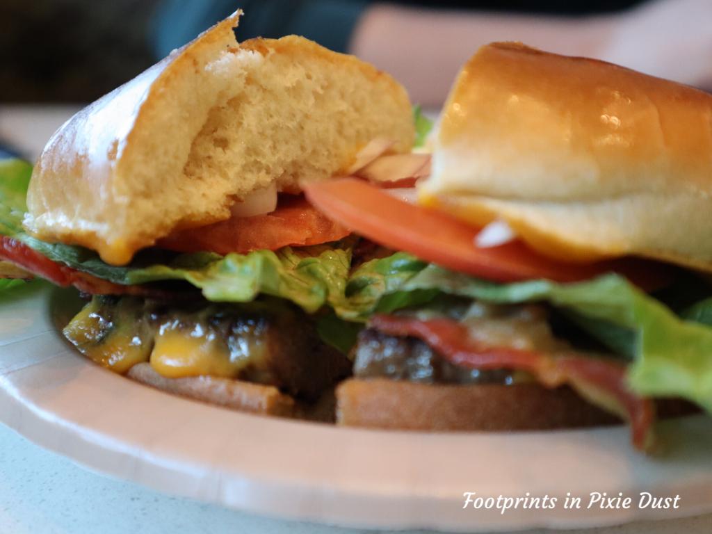 Dating Around Disney Resorts - Artisan Burger from Gasparilla Island Grill