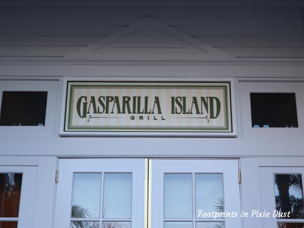 Dating Around Disney Resorts - Gasparilla Island Grill entrance
