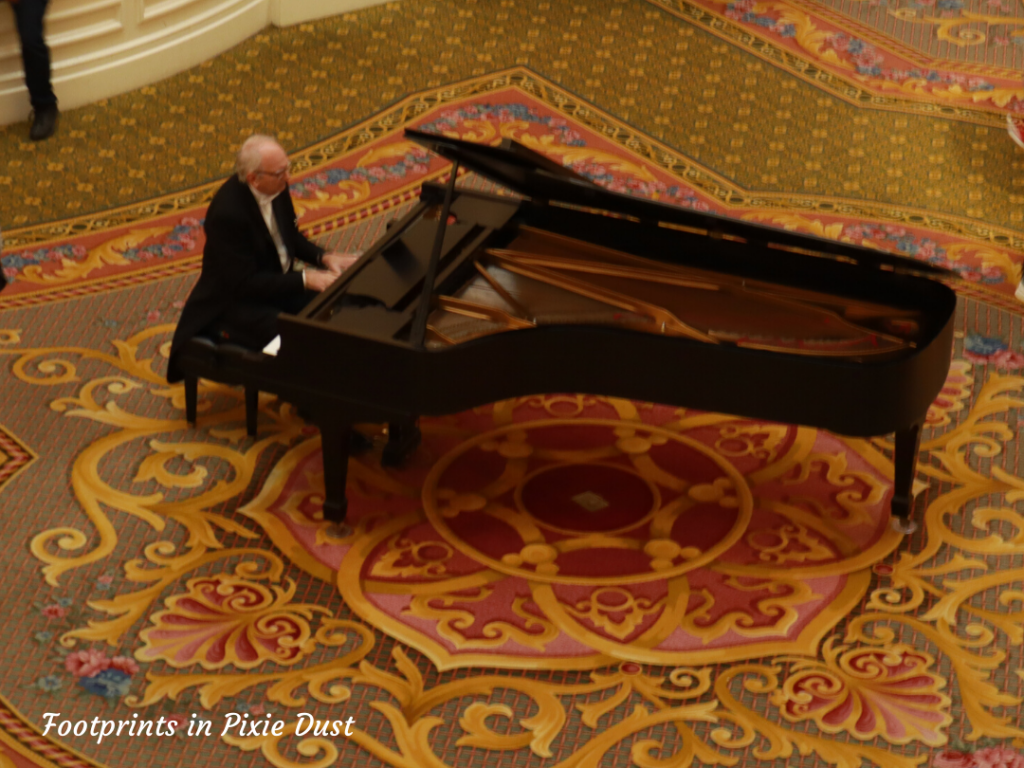 Dating Around Disney Resorts - Pianist at Disney's Grand Floridian Resort and Spa
