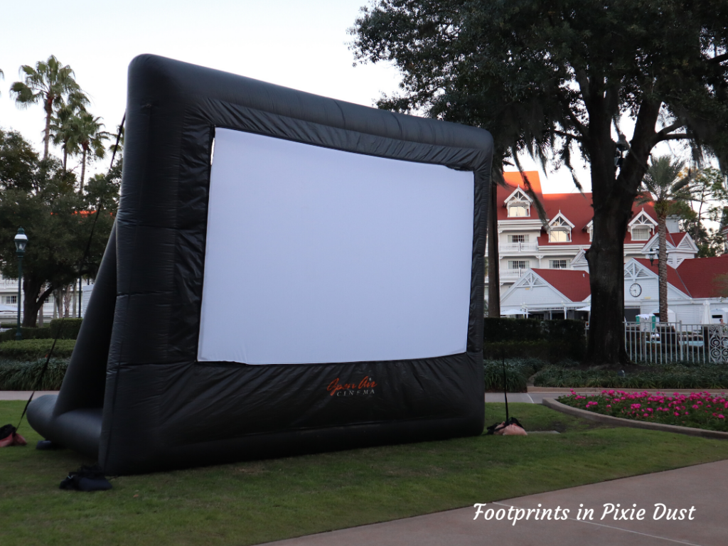 Dating Around Disney Resorts - Prepping for Movie Under The Stars