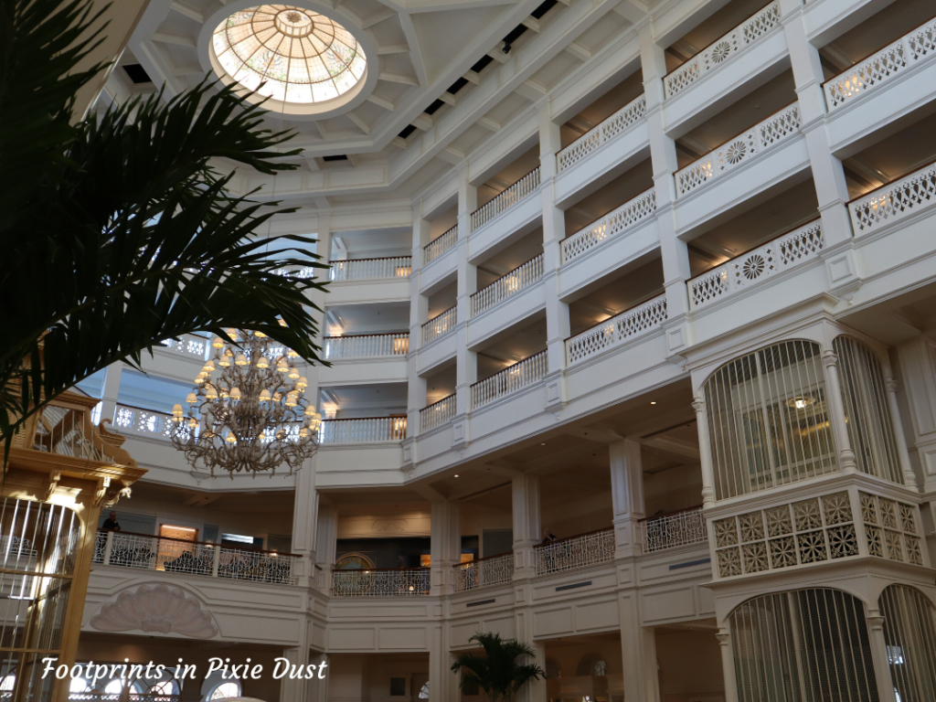Dating Around Disney Resorts - The Disney's Grand Floridian Resort and Spa Lobby