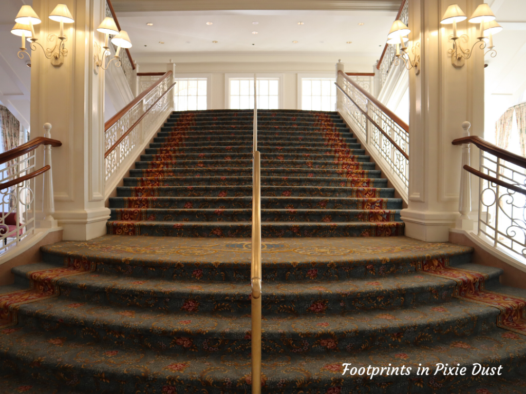 Dating Around Disney Resorts - The Grand Staircase