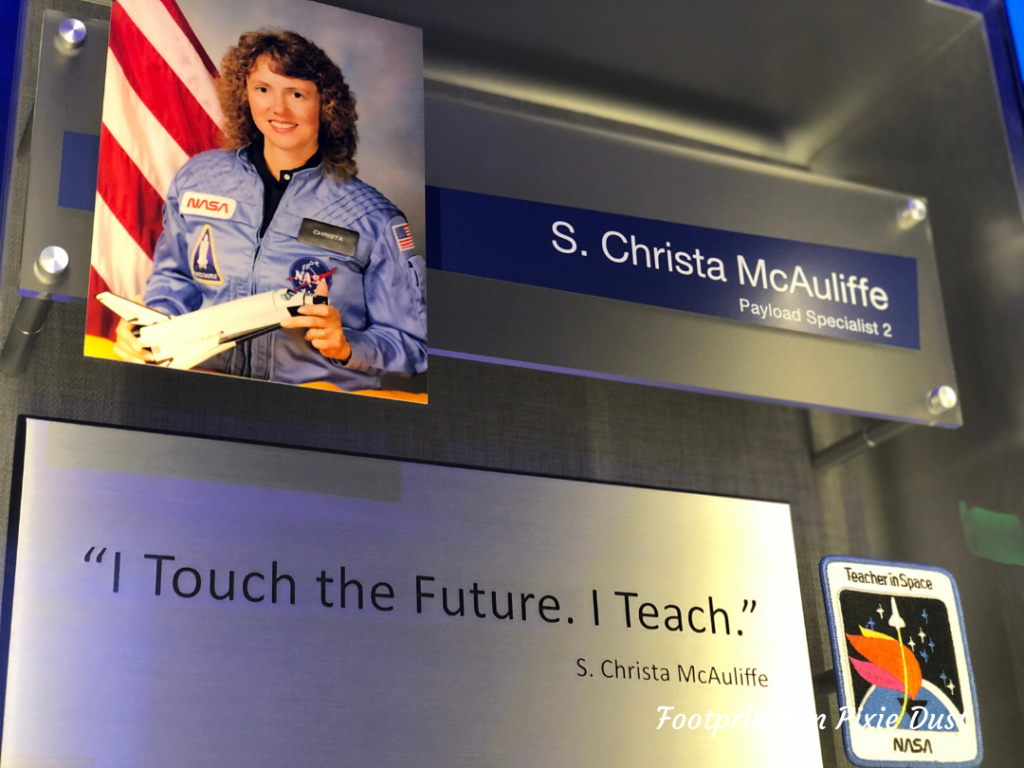 Kennedy Space Center Visitor Complex - Atlantis Building, S. Christa McAuliffe, Teacher Aboard the Challenger