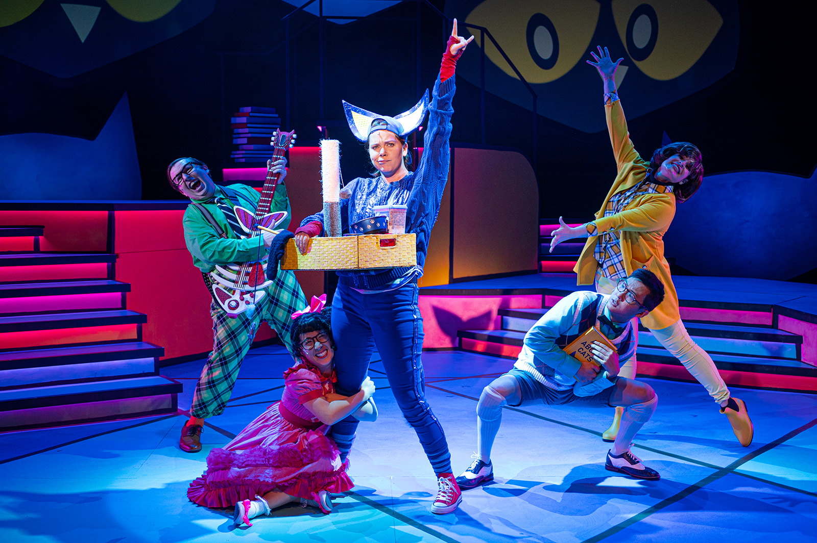 Pete The Cat – Whitney Abell, with the full cast