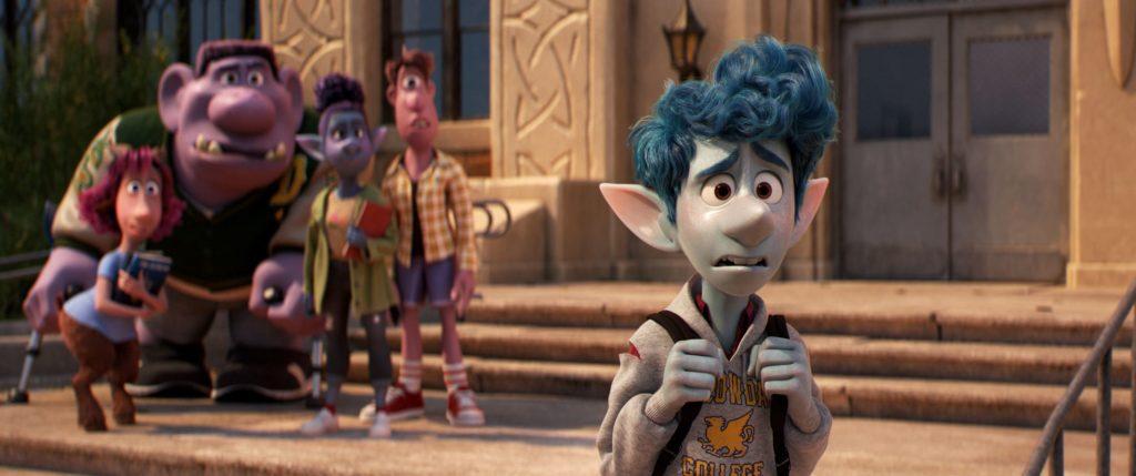 Pixar's Onward (Ian at school) - copyright 2019 Disney-Pixar. All Rights Reserved.