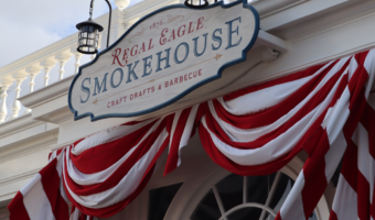 Regal Eagle Smokehouse Entrance