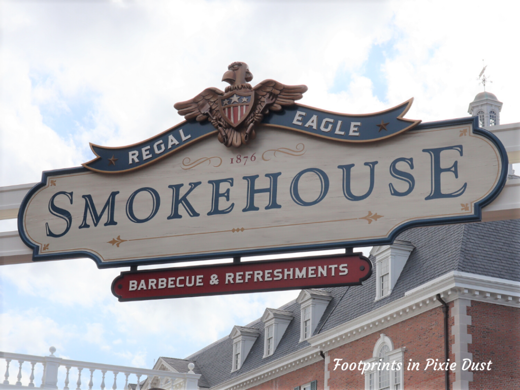 Regal Eagle Smokehouse - Front signage