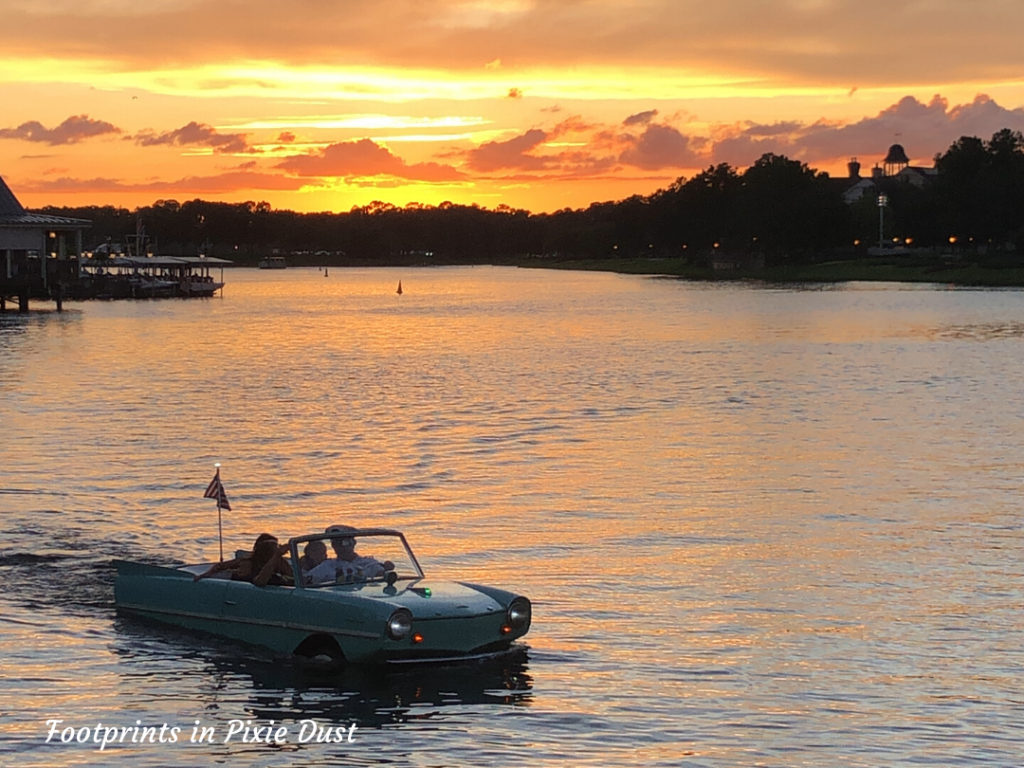 Romantic Disney Ideas - Amphicar at Disney Springs